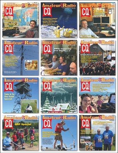 CQ Amateur Radio No.1-No.12 (January-December) 2019