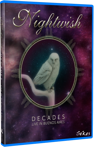 Nightwish - Decades Live in Buenos Aires (2019, Blu-ray)