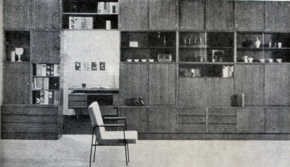 Шкаф-перегородка между комнатами
