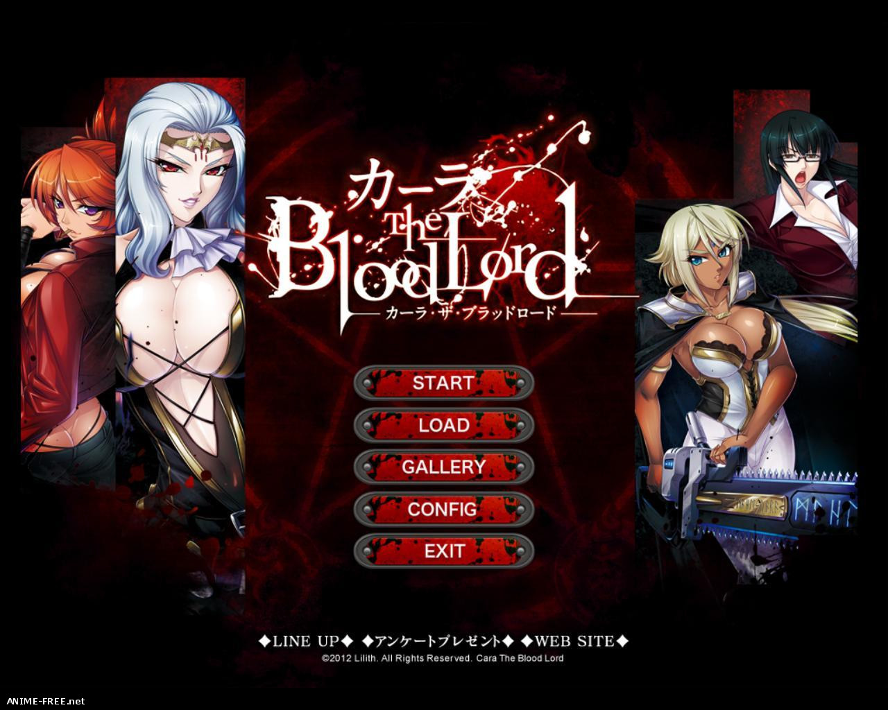 Cara the Blood lord / Кровавый лорд - Карла [2012] [Cen] [VN] [ENG,JAP] H-Game