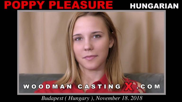 Poppy Pleasure - Woodman Casting X (2019) SiteRip