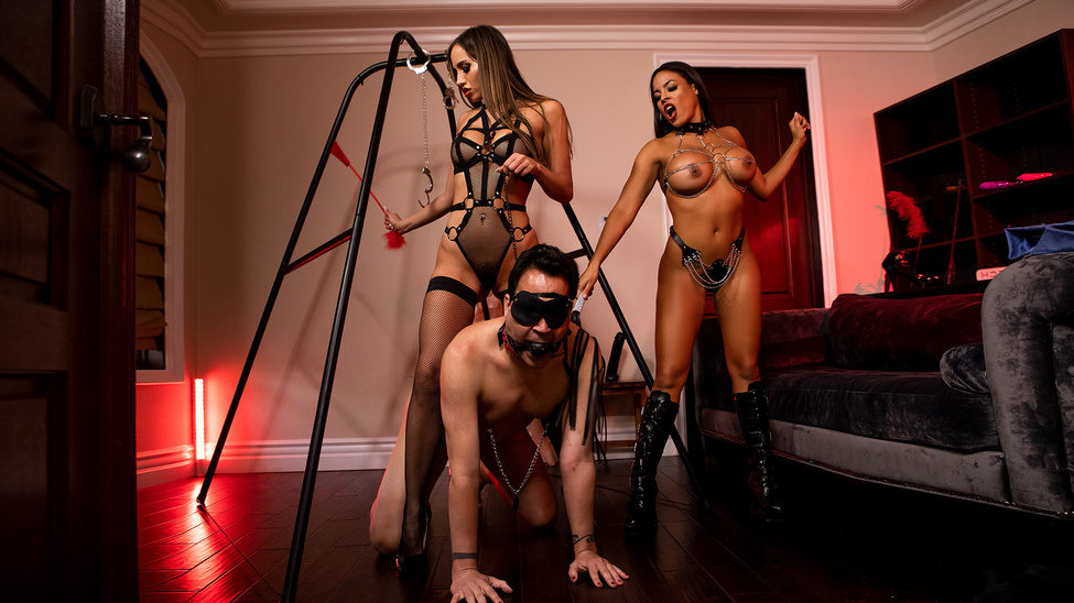 Desiree Dulce & Luna Star - The Dommes Next Door: Double Dommed (2020) SiteRip |