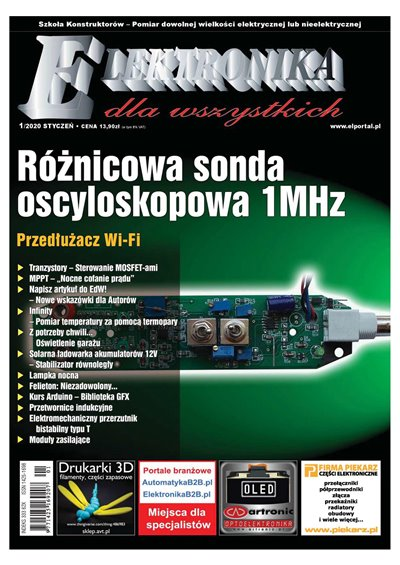 Elektronika Dla Wszystkich №1 2020