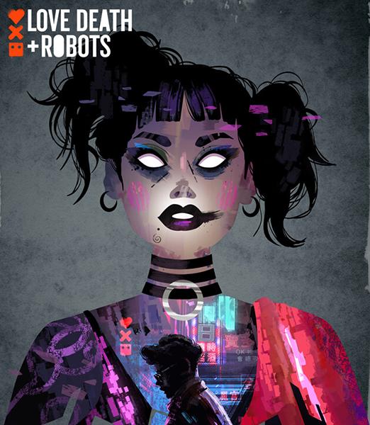 Любовь, смерть и роботы / Love, Death & Robots [01x01-09 из 18] (2019) WEB-DLRip | LostFilm