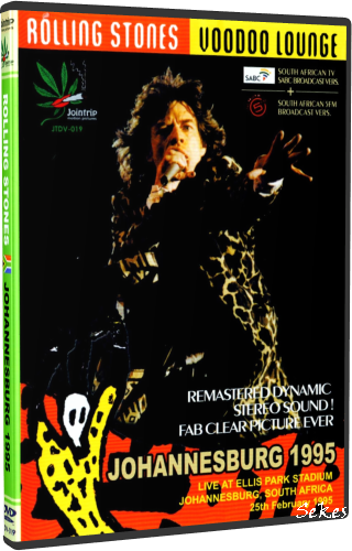 The Rolling Stones - Johannesburg 1995 (2012, 2xDVD5)