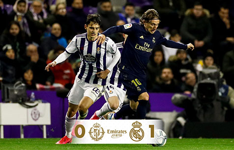 Real Valladolid C.F. - Real Madrid C.F. 0:1