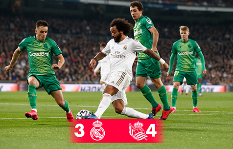 Real Madrid C.F. - Real Sociedad S.A.D. 3:4