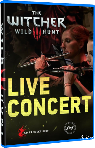 The Witcher 3 - Wild Hunt Live Concert (2016, Blu-ray)