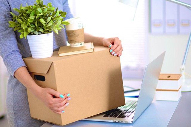 Тара для офисного переезда: параметры выбора