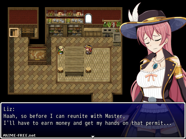 Liz ~The Tower and the Grimoire~ [2016-2020] [Uncen] [jRPG] [ENG] H-Game