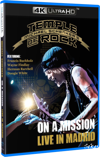 Michael Schenker - On a Mission Live In Madrid (2016, 4K SDR, Blu-ray)