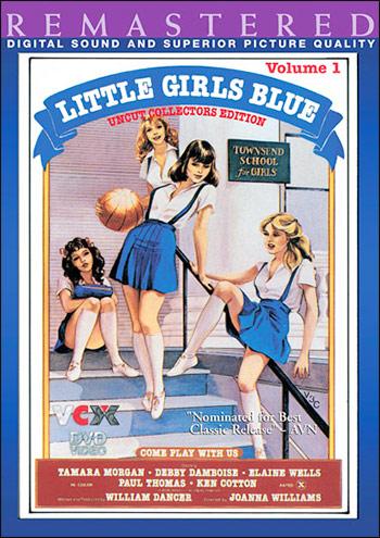 Маленькие девочки в голубом / Little Girls Blue Vol.1 (1977) DVDRip |