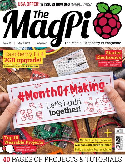 The MagPi - Issue 91