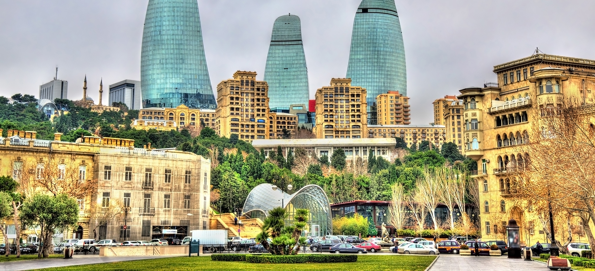 Страна огней Азербайджан