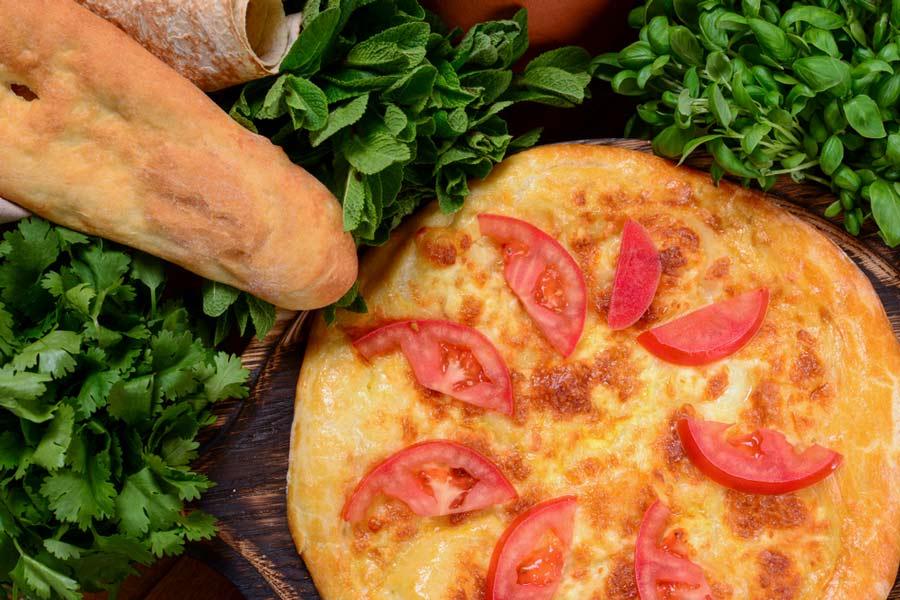 Открытый картофельный пирог с фаршем или мясом