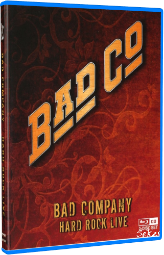 Bad Company - Hard Rock Live (2010, Blu-ray)