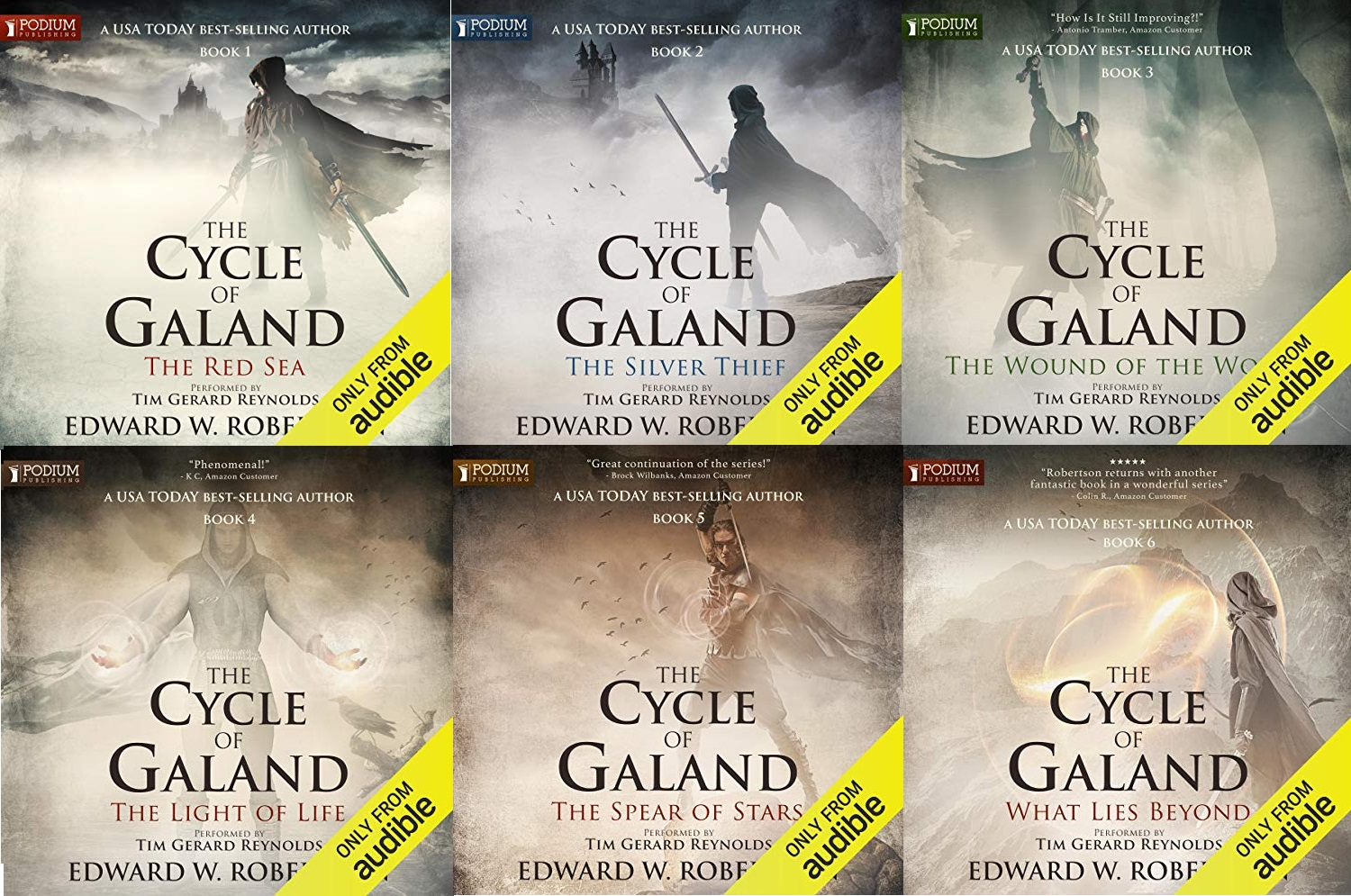 The Cycle of Galand Series Book 1-6 - Edward W. Robertson