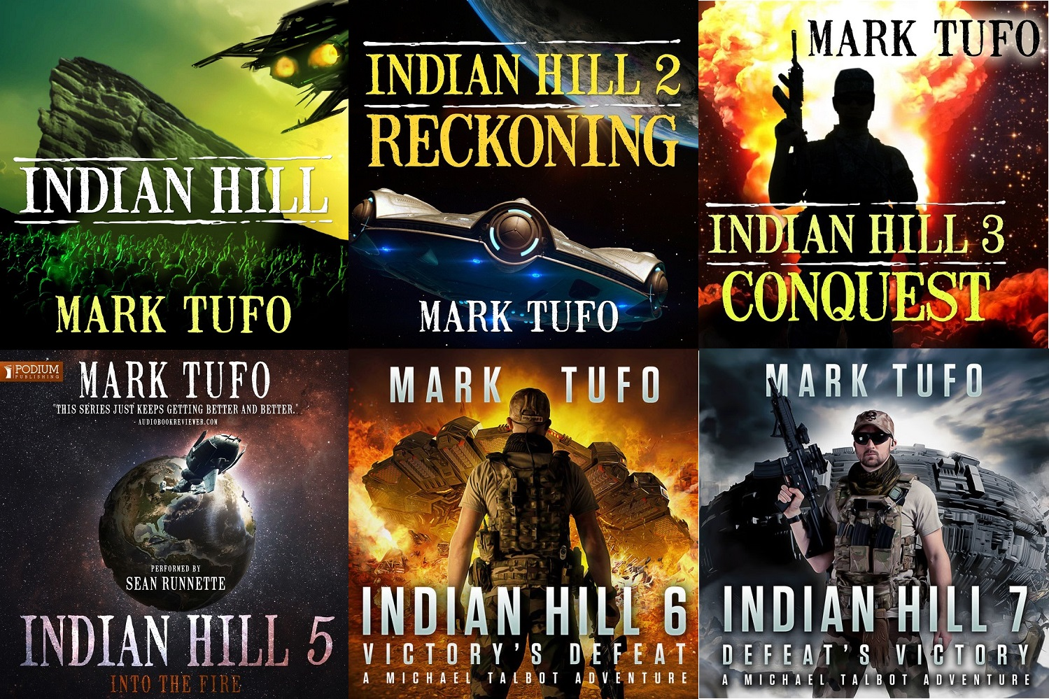 Indian Hill Book 01-07 - Mark Tufo