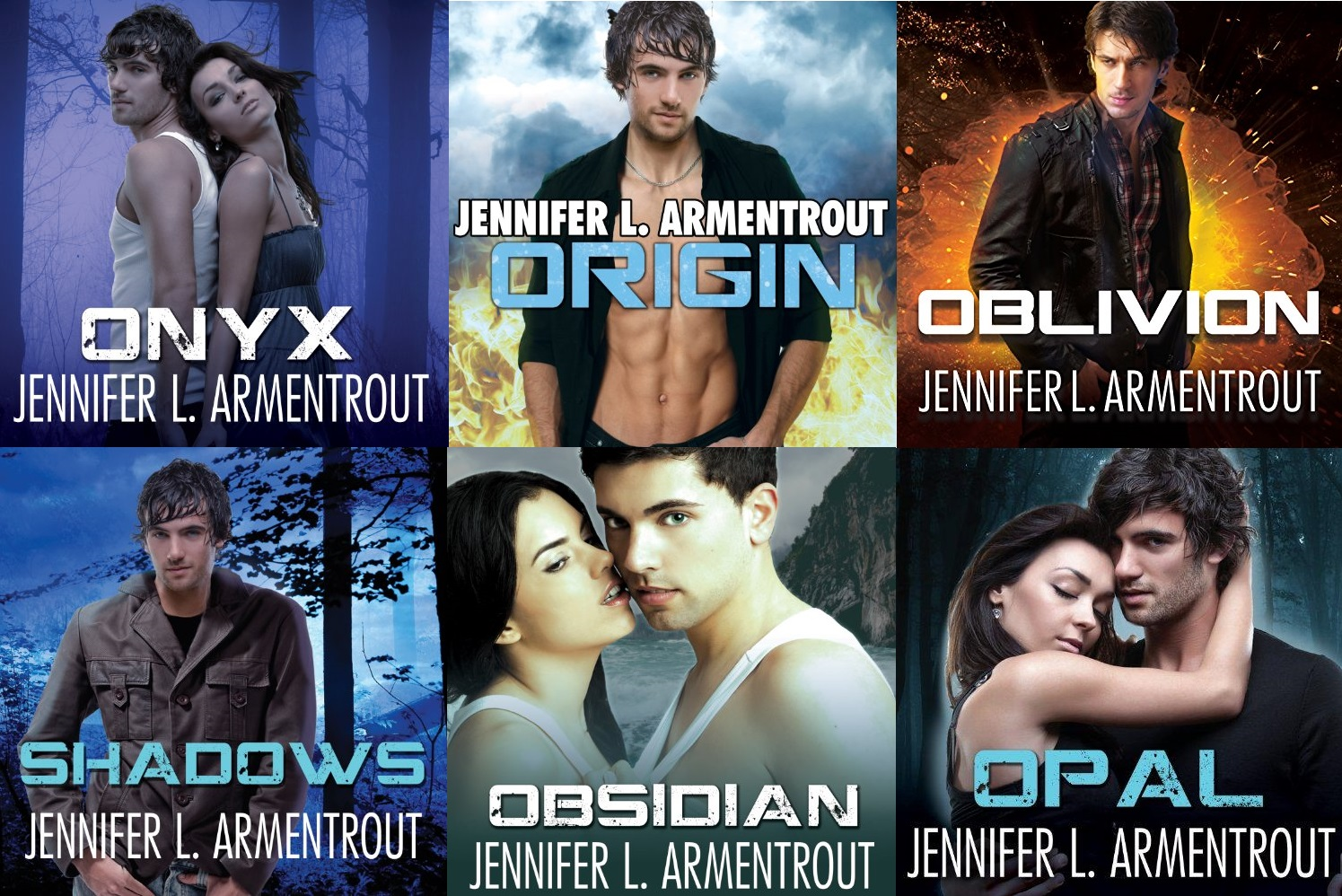 Lux Series (books 0.5, 1, 2, 3, 4, 5. and 6) - Jennifer L Armentrout