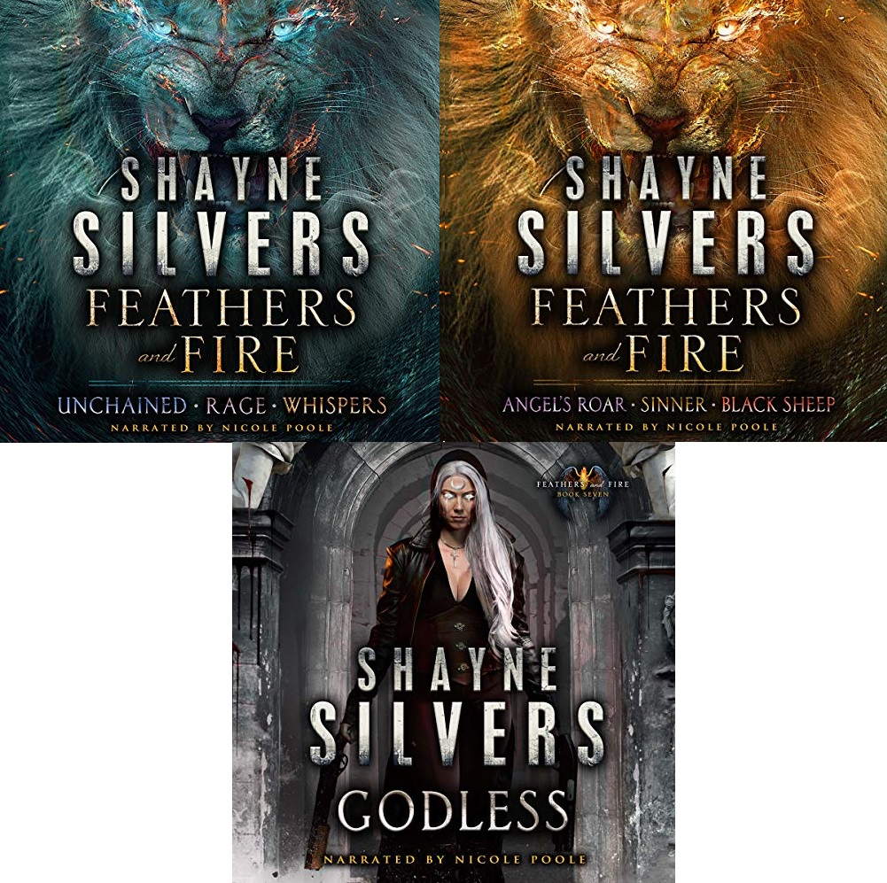 Feathers and Fire Series Books 1-7 - Shayne Silvers