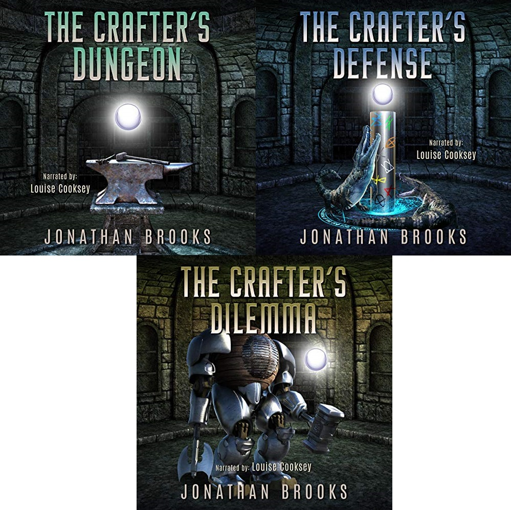 Dungeon Crafting Series Book 1-3 - Jonathan Brooks
