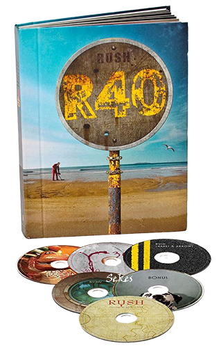 Rush - R40 Box Set (2014, 6xBlu-ray)