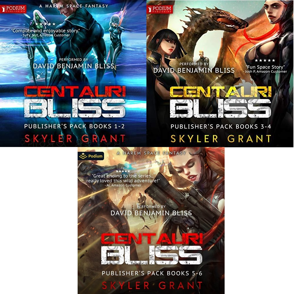 Centauri Bliss Series Book 1-6 - Skyler Grant