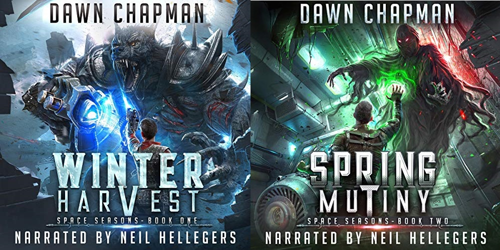 Space Seasons Series Book 1-2 - Dawn Chapman