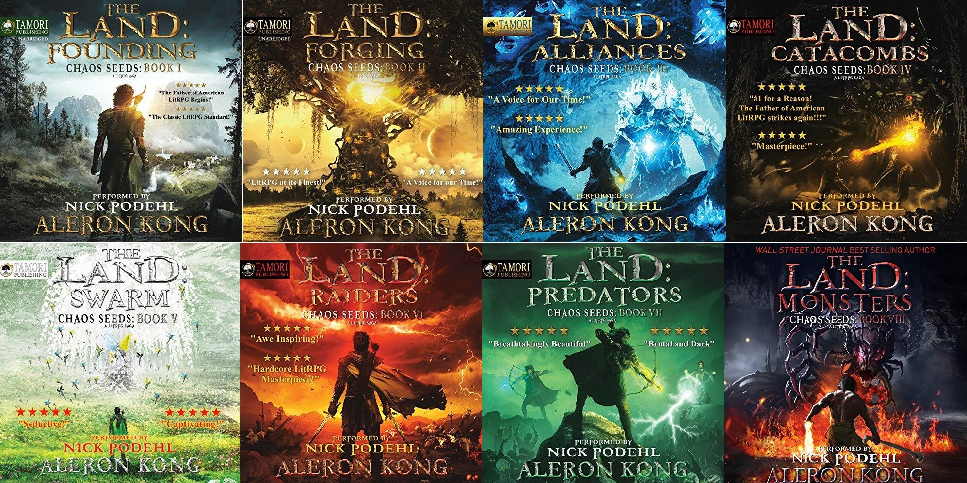 Chaos Seeds Series Book 1-8 - Aleron Kong