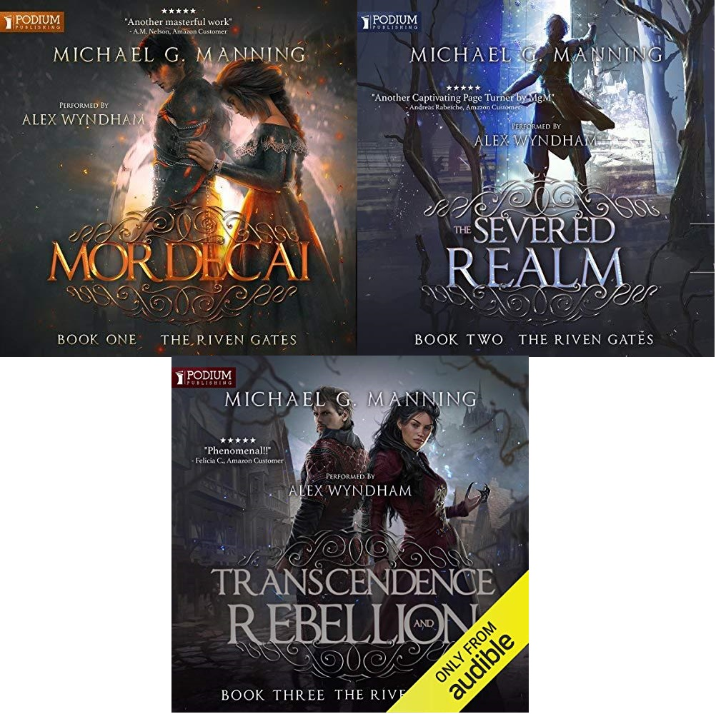 The Riven Gates Series Book 1-3 - Michael G. Manning