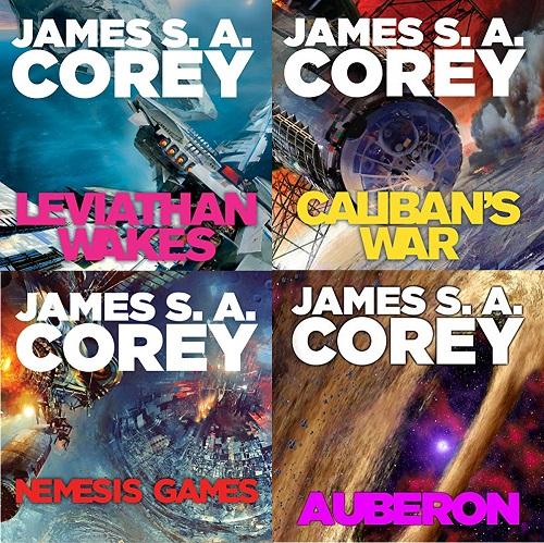 The Expanse Series Books 1-8 - James S.A. Corey