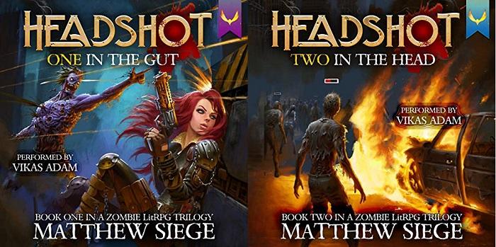 Headshot Series Books 1-2 - Matthew Siege