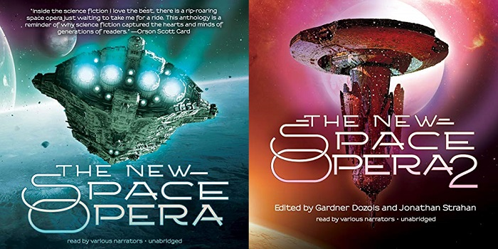 The New Space Opera Books 1-2 - Gardner Dozois (editor), Jonathan Strahan (editor)