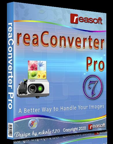 reaConverter Pro 7.586 Repack & Portable by elchupacabra [2020,Multi/Ru]