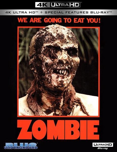 Пожиратели плоти / Зомби 2 / Zombi 2 / Zombie: Flesh Eaters (1979) (1979) BDRemux 2160p | HDR