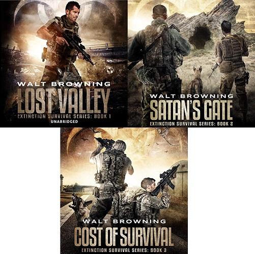 Extinction Survival Series Book 1-3 - Walt Browning
