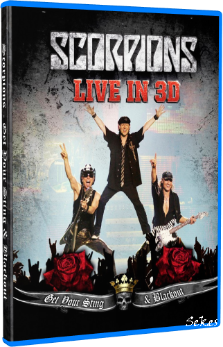 Scorpions - Live In 3D Get Your Sting & Blackout (2011, Blu-ray)