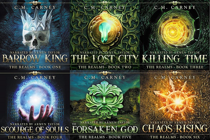 The Realms Series Book 1-6 - C.M. Carney