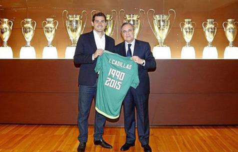 """Marca: Касильяс возвращается в """"Реал Мадрид"""""""
