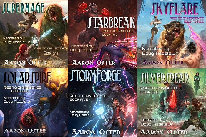 Rise to Omniscience Series Book 1-6 - Aaron Oster
