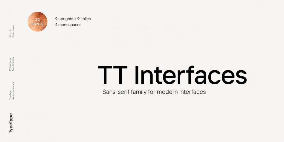 Шрифт TT Interfaces