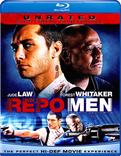 Потрошители / Repo Men (2010) BDRip [H.264 / 1080p] [Unrated]