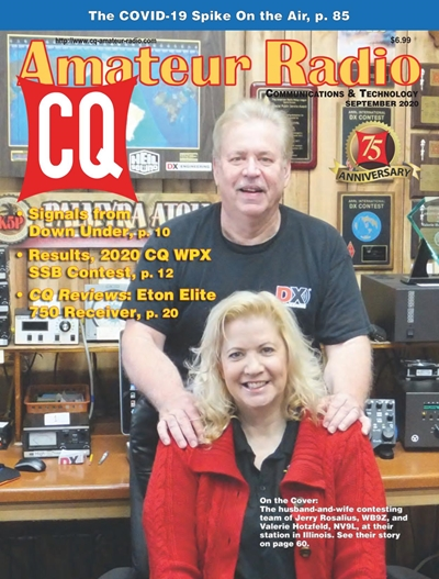 CQ Amateur Radio №9 (September) 2020