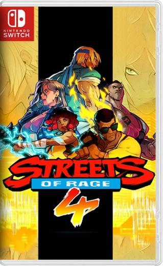 Streets of Rage 4 (2020) [Switch] [USA] 10.1.0 [NSP] [License / 1.0.3] [Ru / Multi]