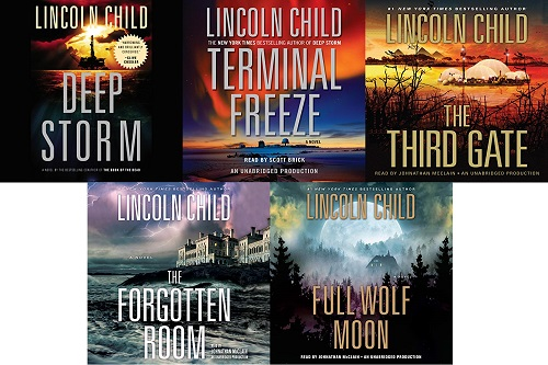 Dr. Jeremy Logan Series Book 1-5 - Lincoln Child
