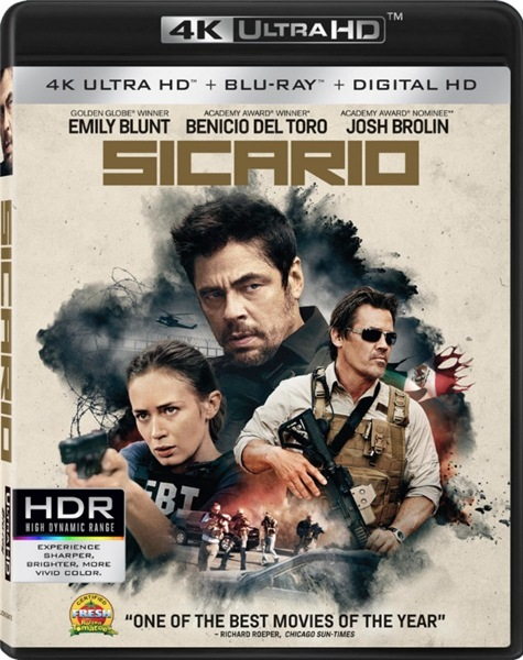 Убийца / Sicario (2015) BDRip 1080p | A