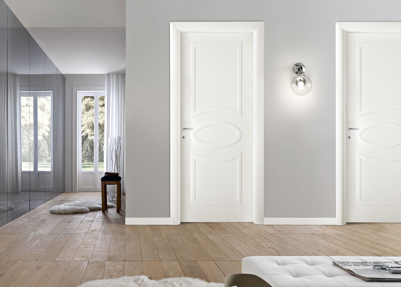 Белые межкомнатные двери: преимущества использования