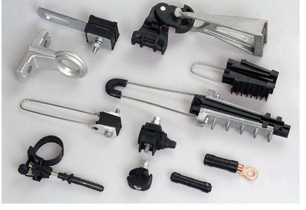 Стойки СВ, арматура для СИП и другие компоненты для ЛЭП