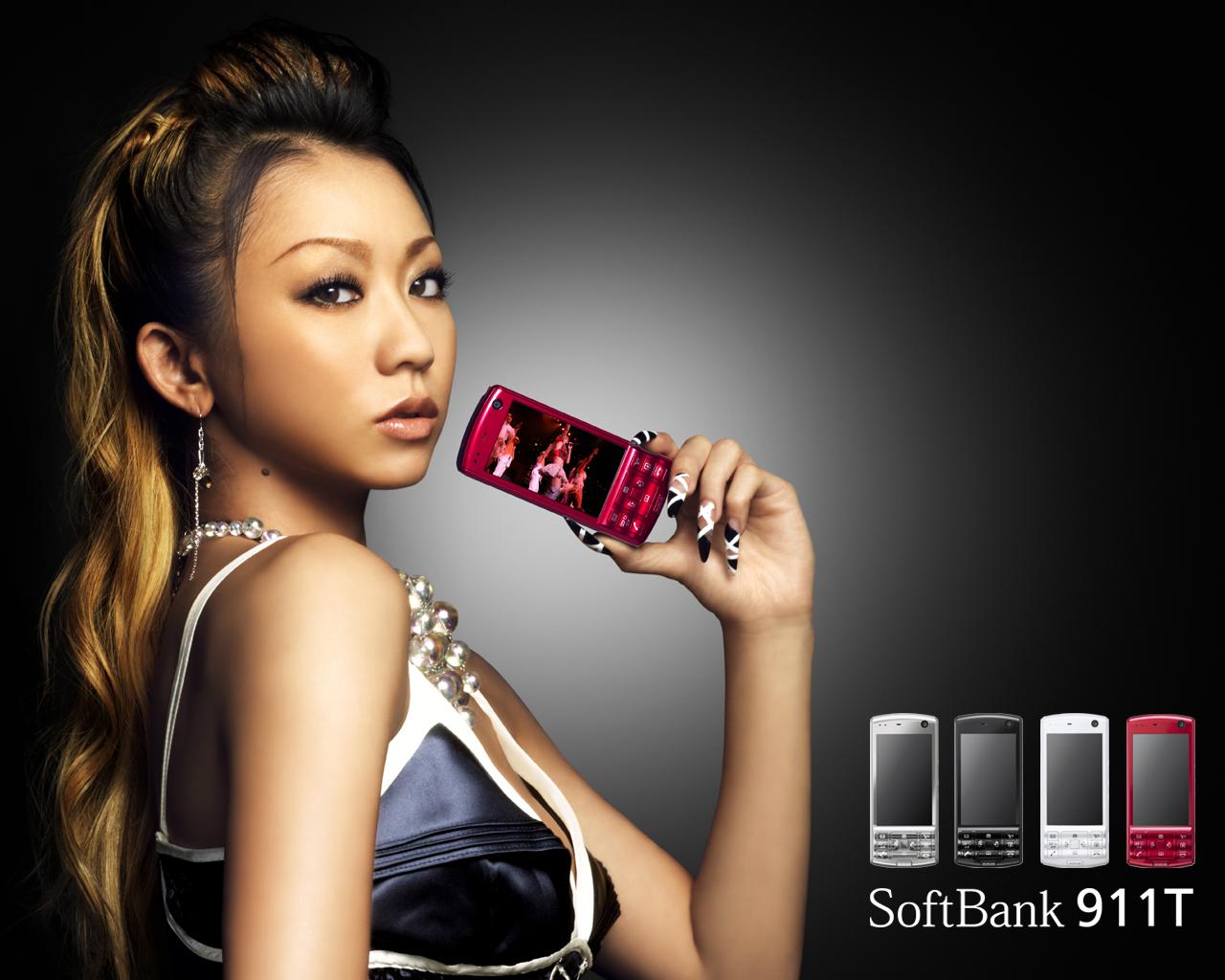 Koda Kumi, SoftBank, promo [PH201025002027]