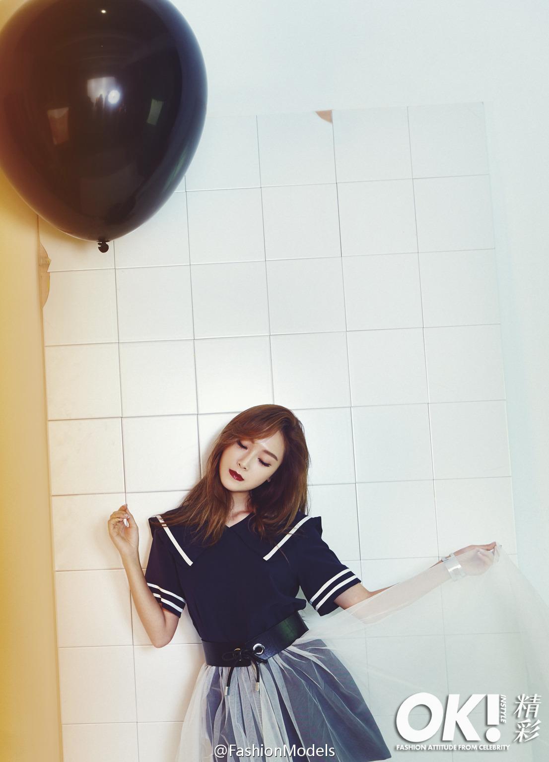 Jessica Jung, Girls' Generation, black balloon [PH201025002025]